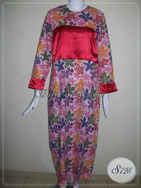 Gamis Batik Wanita Dewasa Gamis Batik Perempuan Dewasa Baju Batik Gamis Trendy
