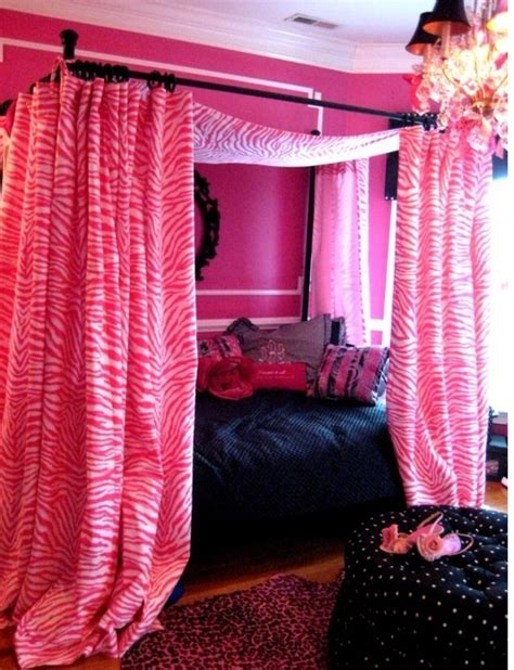 canopy drapery rod set 29 best images about diy canopy bed curtains on pinterest