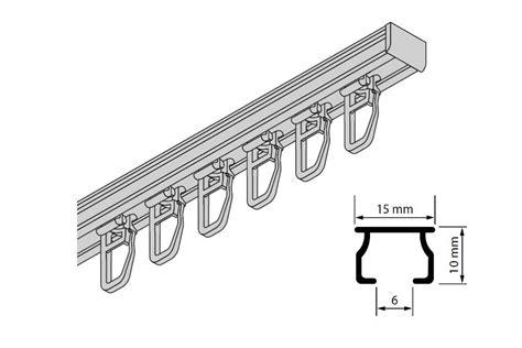 gardinenschiene alu 1 laufig gardinen welt shop aluminium gardinenschienen und