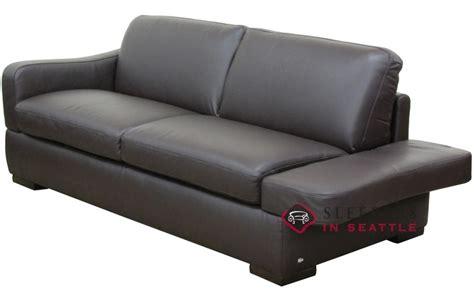 leather sleeper sofa full natuzzi editions paglia ii leather sleeper sofa with