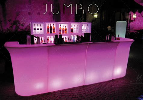 banconi bar illuminati banconi bar luminosi bar catering roma noleggio