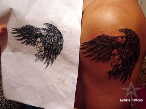 tattoo eagle indian indian eagle tattoo model by twinkletattoos on deviantart