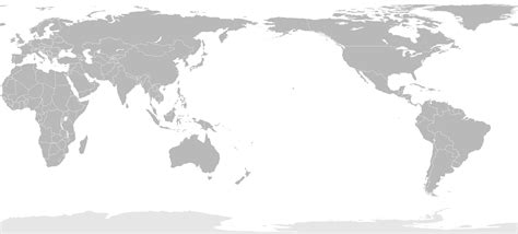world map image pacific centered blank world map asia centered