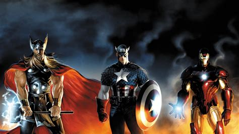 thor ironman captain america film my new screensaver first in