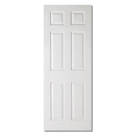 Interior 6 Panel Door Lpd Textured Interior Door White Moulded Veneer 6 Panels 9 Available Sizes Ebay