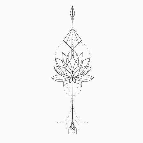 lotus tattoo zeichnung lotus tattoo design tattoos pinterest milieu le dos