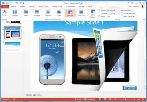 Page Turning Effect In Powerpoint How To Apply Page Turn Effect In Powerpoint Presentations