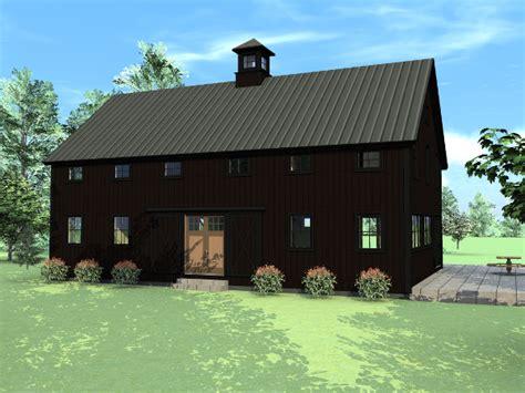 Wood Barn House Plans
