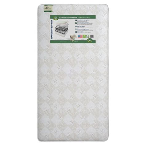 Serta Tranquility Crib Mattress Serta Tranquility Eco Firm Crib Mattress In A43330 1107