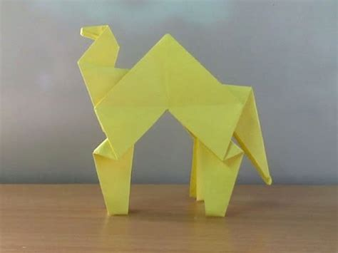 How To Make A Camel Out Of Paper - how to make a paper camel easy tutorials