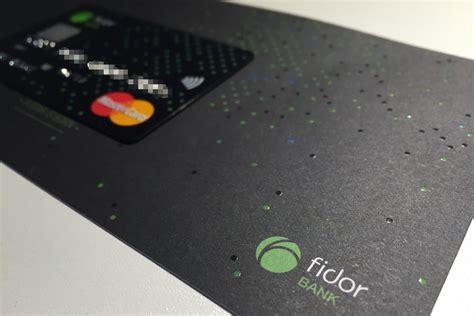 cc bank kredit karte fidor smartcard vereint drei funktionen