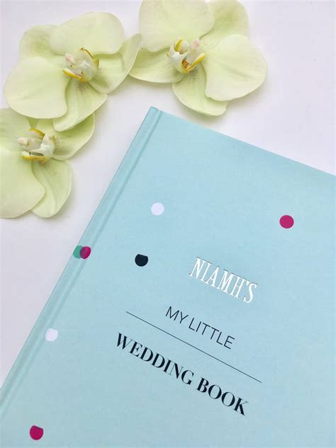 Wedding Planner Guide by Personalised Wedding Planner Guide Book By Pearl