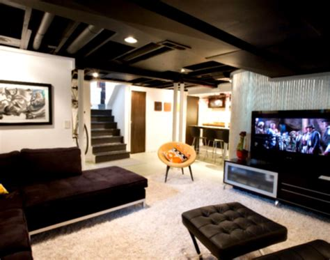 Interior Design Cool Basement Rooms Unfinished Ideas Small