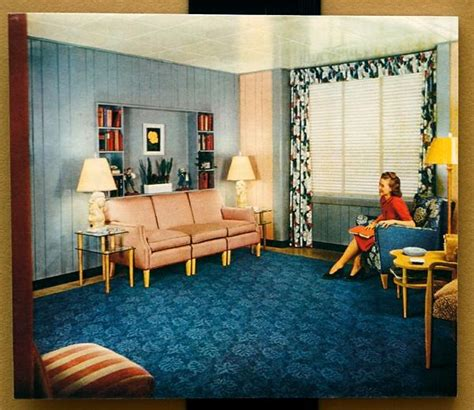 1940 homes interior 37 best 50 s interiors images on homes vintage decor and bedroom