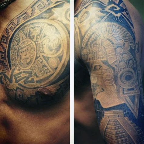 aztec tribal armband tattoos 80 aztec tattoos for ancient tribal and warrior designs