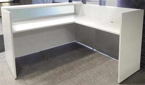 White Salon Reception Desk White Salon Reception Desk
