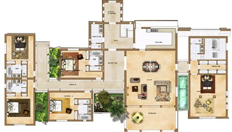plan villa plan villa maroc plan maison plans maroc