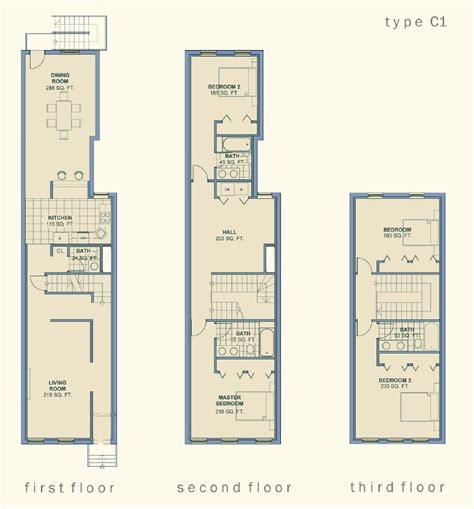 narrow row house community architect 08 26 12 apts pinterest