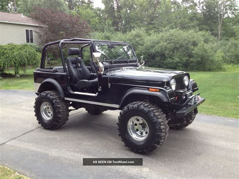 jeep 1986 cj7 1986 jeep cj7 all fiberglass 304 v8