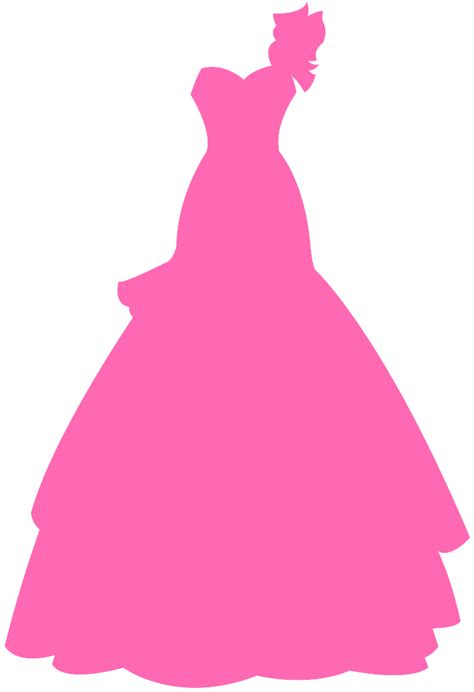 Wedding Dress Vector by Wedding Dress Silhouette Free Vector Silhouettes