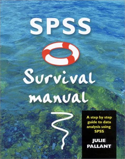 spss manual survival spss survival manual repost avaxhome