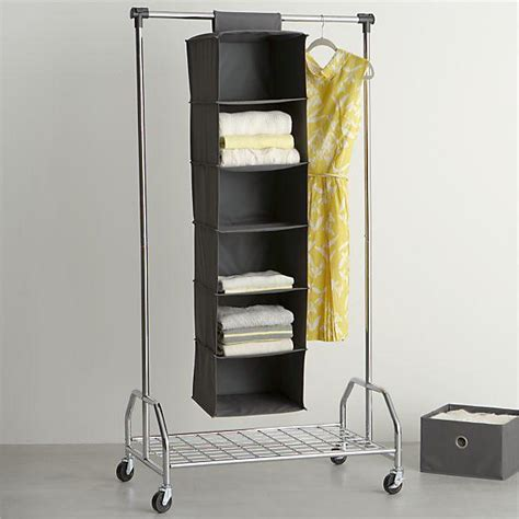 Crate And Barrel Closet by Grey Hanging Sweater Bag In Closet Crate And Barrel