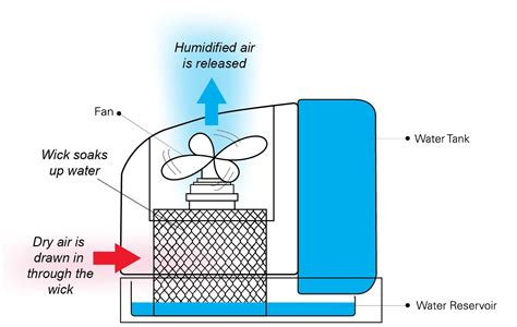 how a vaporizer works diagram what to consider when buying a humidifier andatech