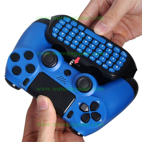 Dobe Ps4 Ps4 Slim Ps4 Pro Wireless Keyboard Keypad Chatpad jual dobe ps4 ps4 slim ps4 pro wireless keyboard keypad chatpad waroengame