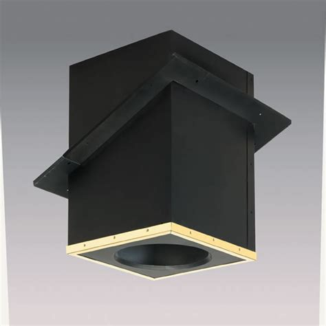 Fireplace Chimney Pipe by Supervent All Fuel Chimney Pipe Cathedral Ceiling Support