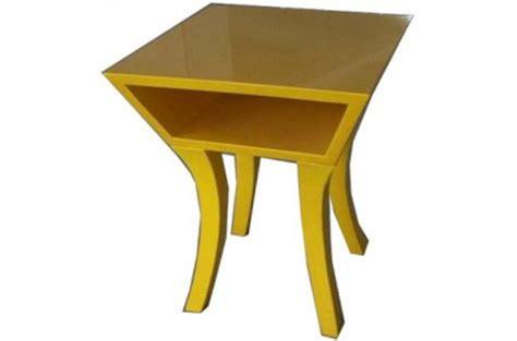 Table De Nuit Jaune by Table De Chevet Jaune Jaune Design Pas Cher Sur Sofactory