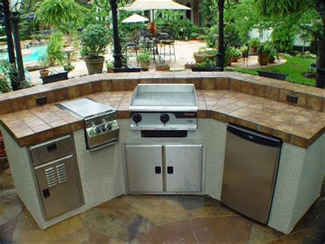 Premade Kitchen Islands home products rotisserie kit grills griddle q gas grill