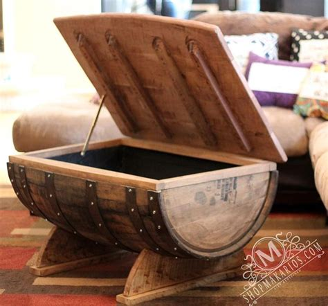 wine barrel coffee table glass top upcycled wood awesome wine barrel furniture ideas that you will to see