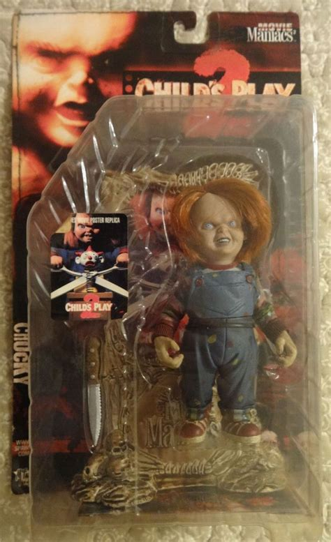 film action horror movie maniacs childs play chucky action figure