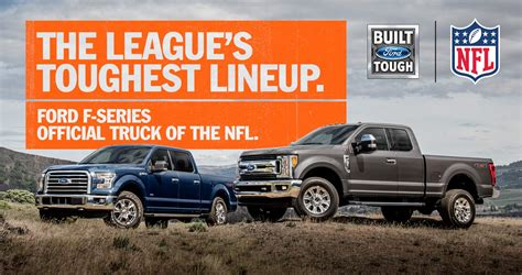 ford f series named official truck of the nfl the news wheel