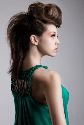 edgy retro hairstyles updos for homecoming