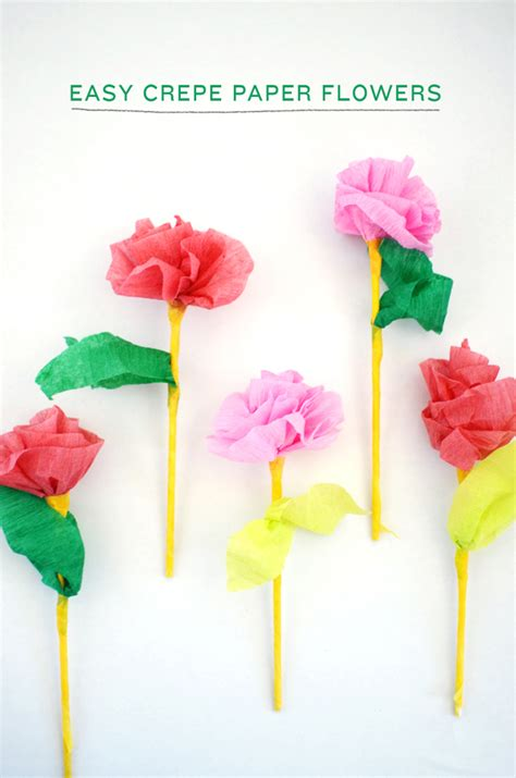 How To Make Crepe Paper Flowers Easy - easy crepe paper flowers cakies
