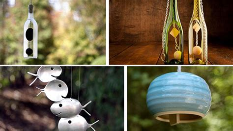 16 handmade wind chime designs your garden needs to