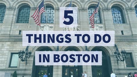 5 Things To Do by Byrnewithme 5 Things To Do In Boston Byrnewithme