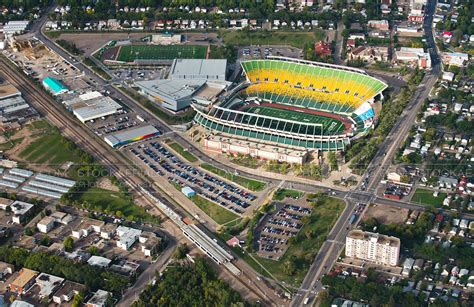 Finder Edmonton Aerial Photo Commonwealth Stadium Edmonton Ab