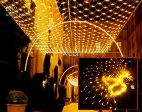 cheap meshwork l 800 led net lights 3m 6m curtain light
