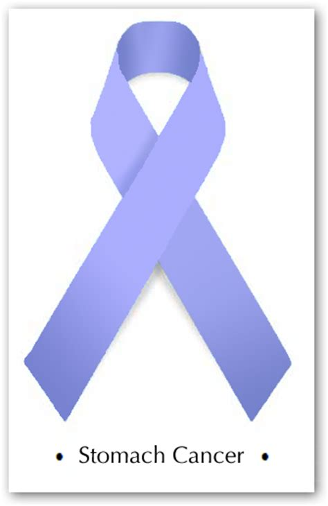 stomach cancer ribbon color cancer awareness months 171 running for more