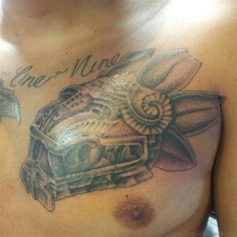 aztec serpent tattoo designs 50 best zodiac aztec tattoos on chest