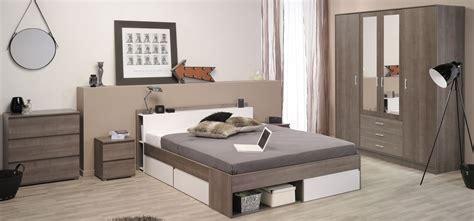 schlafzimmer woody schlafzimmer mit bett 160 x 200 cm eiche silber weiss