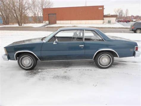 1979 chevy malibu classic 2 door find used 1979 chevrolet malibu classic coupe 2 door 3 3l