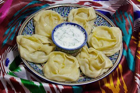 uzbek cuisine foods and drinks uzbek manti picturing food drink