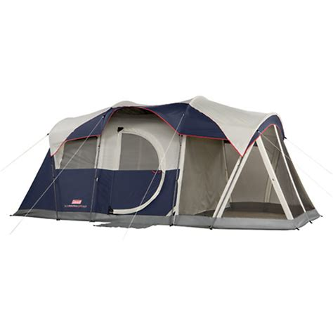 6 Person Cabin Tent by Coleman Elite Weathermaster Tent 6 Person 17 X 9