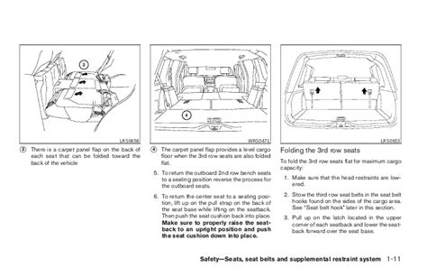 car engine manuals 2007 nissan pathfinder seat position control 2007 pathfinder owner s manual