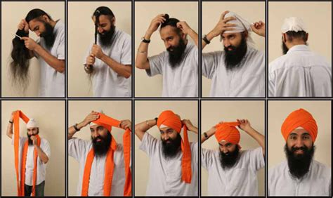 tutorial turban india how to tie a sikh turban sikh pinterest turbans