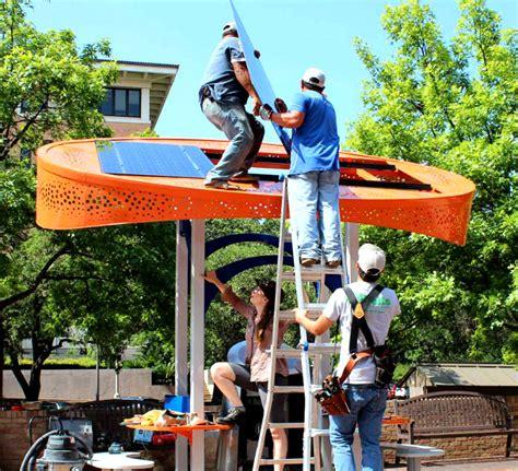 design lab austin tx sol design lab installs awesome solar charging stations at