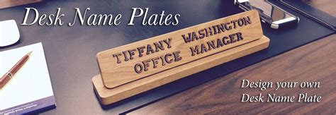 unique desk name plates unique desk name plates to make any office unique